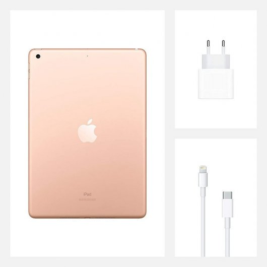 "APPLE IPAD 2020 10.2"" 128GB WIFI DORADO"