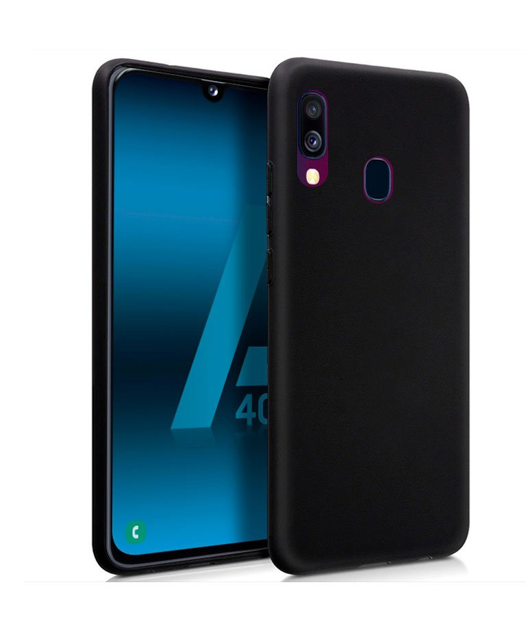 FUNDA SAMSUNG GALAXY A40 GEL NEGRO
