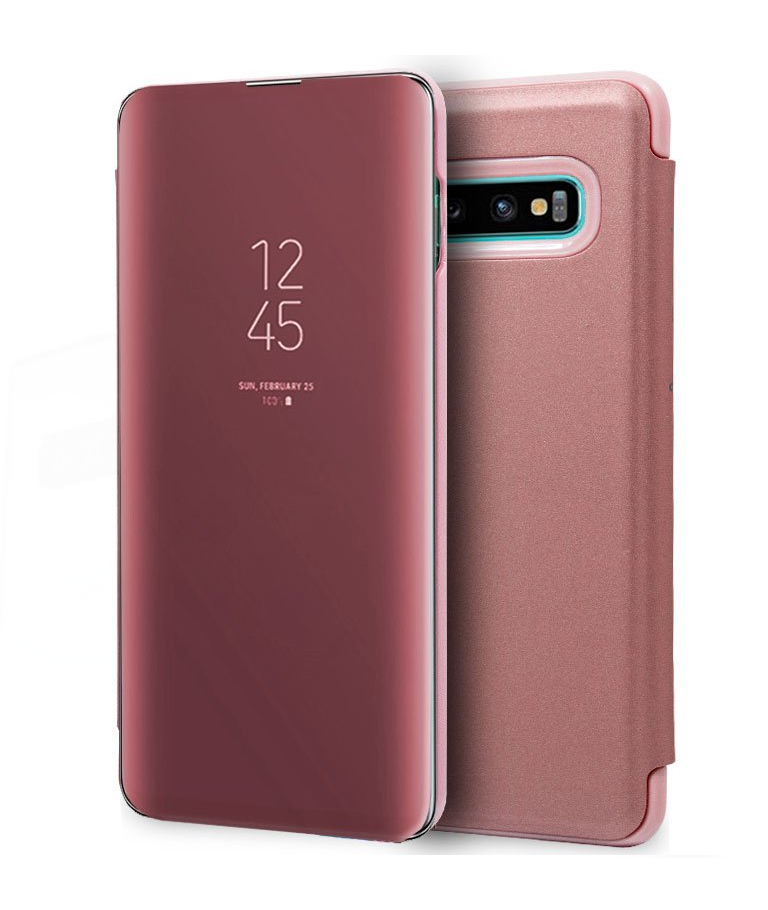 FUNDA SAMSUNG GALAXY S10 PLUS VIEW ROSA TECODE