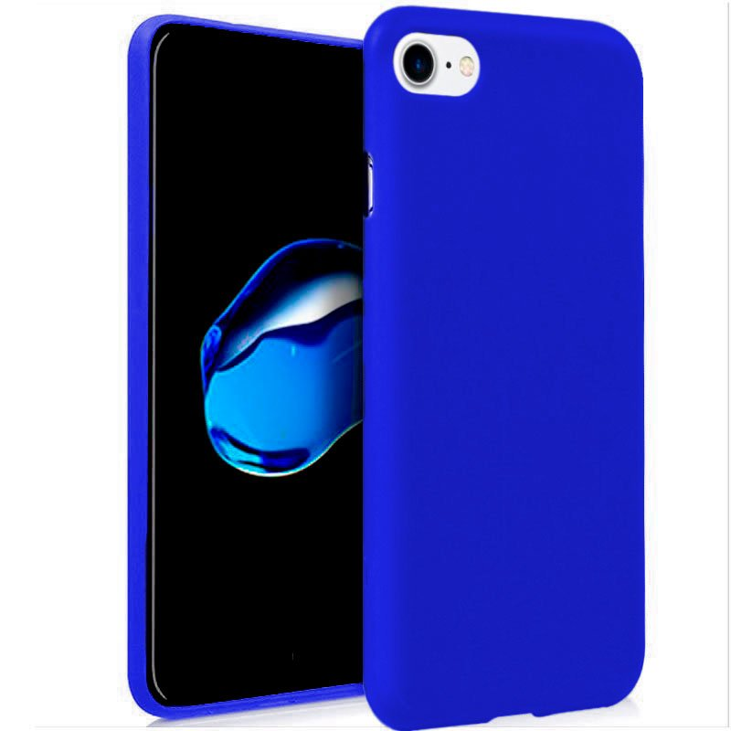FUNDA GEL AZUL IPHONE 7/8/SE 2020