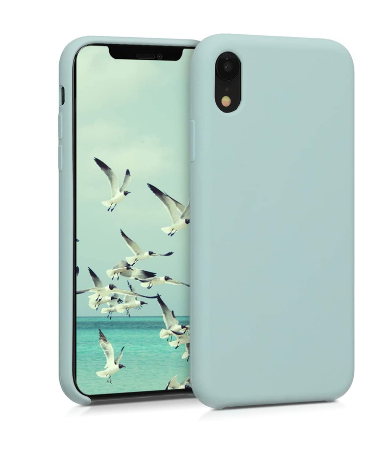 FUNDA IPHONE XR SOFT TURQUESA