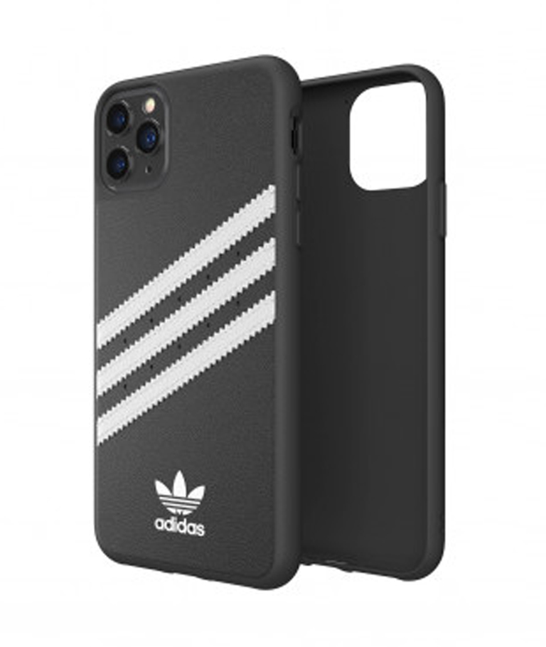 FUNDA IPHONE 11 PRO MAX STRIPES NEGRA ADIDAS