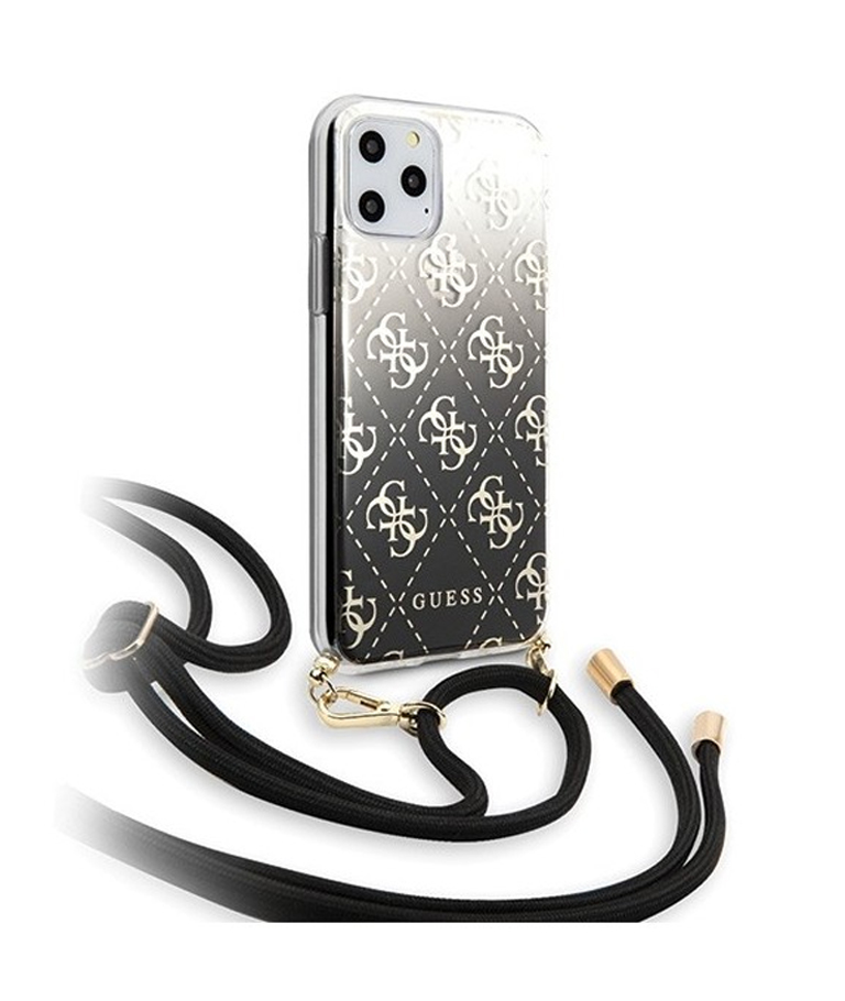 FUNDA IPHONE 11 PRO GUESS COLGANTE NEGRO