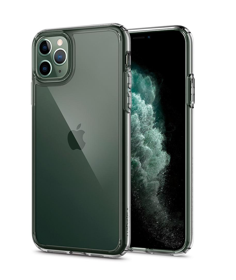 FUNDA IPHONE 11 PRO ULTRA HYBRID TRANSPARENTE SPIGEN